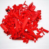 LEGO Red Bricks - 500g of Mixed Red Bricks Parts & Pieces Bundle Job Lot