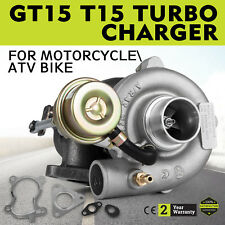 T15 GT15 A/R.42 TURBO CHARGER/TURBOCHARGER W/WASTEGATE 13 PSI for Small Engine