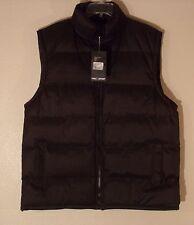 MEN'S NWT XL PRO X SPORT BLACK BUBBLE VEST SLEEVELESS COAT JACKET 100% POLY#246