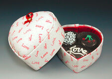 Chocolates of Glass - Heart Box of Chocolates Valentines Day Gift Ideas