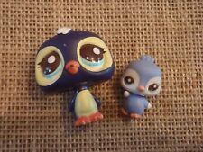 Littlest Pet Shop Penguin Mommy & Baby #2495 & #2596 Lot A56