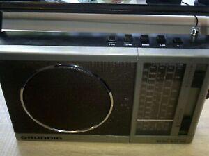 Grundig Music Boy 160a FM/MW/SW/LW 4 Band Radio