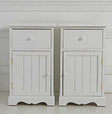 Country 61cm-65cm Bedside Tables & Cabinets with 3 Drawers