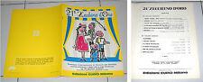 Spartiti 21 ZECCHINO D'ORO 1978 Piccolo Coro dell'Antoniano Songbook Spartito