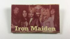 Pin Badge USSR Underground Rock IRON MAIDEN STRICTLY PROHIBITED Russia.Scarce!