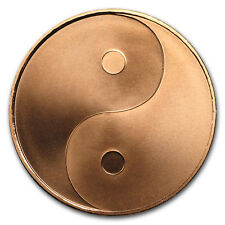 2017 1 oz Copper Shield Round - MiniMintage (Yin-Yang) - SKU#152292