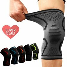 Knee Sleeve Compression Brace Support XXXL Plus Size Joint Pain Arthritis Relief