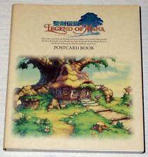 Legend of Mana Postcard Book OOP RARE Seiken Densetsu SQUARE Art