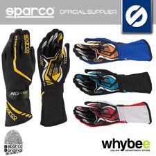 002551 guantes de carreras Sparco Torpedo KG-5 Karting Alto Agarre Talla 7-13 4 Colores!