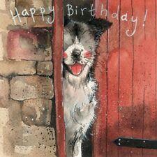 Alex Clark 'Stable Door' Happy Birthday Greetings Card - FREE UK POSTAGE!