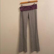 Victoria's Secret extra small gray a/ purple pants