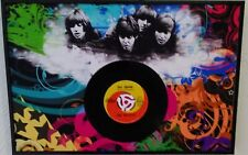 Beatles Day Tripper Picture 45 Framed Approx 12 inches x 18 inches John Lennon