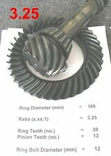 BMW E30 E36 E28 E24 Differential *3.25 Ratio*  Ring & Pinion 188mm Gears LSD