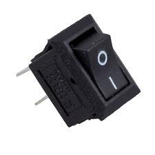 5 x AC 250V 3A 2 Pin ON/OFF I/O SPST Snap in Mini Boat Rocker Switch J8L2