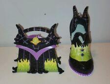 Disney Sleeping Beauty Maleficent Handbag Purse Shoe Ornaments Set Of 2