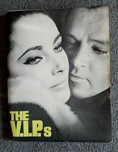 The V.I.P.s Press Kit w/Photos ELIZABETH TAYLOR Richard Burton ORSON WELLES 1963