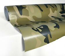 Army camo camouflage desert car wrap vinyl sticker air release roll 5ft x 60""