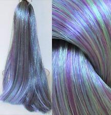 PEACOCK Saran Doll Hair for Doll Rerooting/Wig Making Monster High OOAK