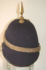 Other Ranks Blue Cloth Home Service Helmet dated 1912