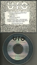 UFO Between a Rock & Lights out 1989 USA  PROMO DJ CD single Michael Schenker