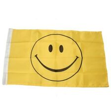 Small 12 Inch X 20 Inch Replacement Flag For Whip Antenna Smiley Face Flag
