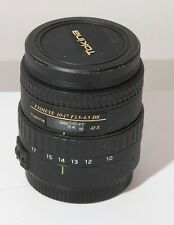 Tokina Fisheye AT-X 107   10-17mm f3.5-4.5 DX NH Lens - Canon EOS EF FULL FRAME