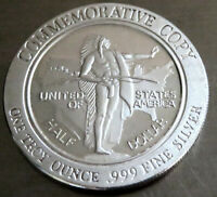 1993 SESQUICENTENNIAL OREGON OFFICIAL COPY OF 1926 COIN .999 SILVER 1 TROY OZ