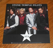 Stone Temple Pilots No. 4 Poster 2-Sided Flat Square 1999 Promo 12x12
