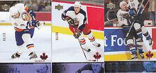 03-04 Upper Deck Adrian Aucoin /50 Canadian Exclusives Islanders 2003
