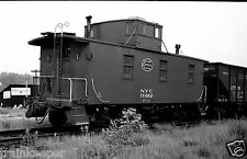 New York Central (NYC) Caboose #17462 Black & White Print