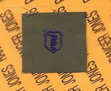 USAF Bio Medical Service Qualification OD Green & Blue badge patch