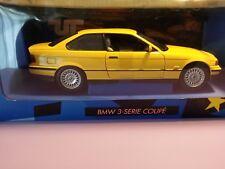 bmw serie 3 giallo ut 1/18