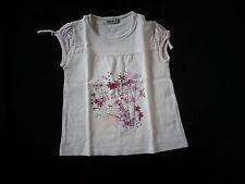 tee-shirt blanc 5 ans TAPE à L'Oeil - cOmme NEUF - jamais porté, juste lavé