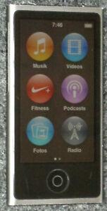 Apple iPod nano MP3-Player 16 GB (7. Generation) SpaceGrey (Grau) A1446A