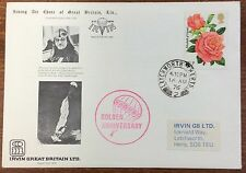 1976 GB parachute mail cover
