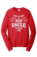 FUN UNCLE LOOKS LIKE FUNCLE BEST FUNCLE GIFT MENS FUNNY SWEATSHIRT