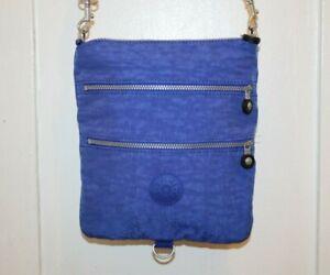 KIPLING RIZZI Blue Convertible Mini Shoulder Crossbody Bag Purse AC7427-468 EUC