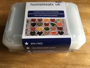 New 10 Pack Stackable Food Portion Containers