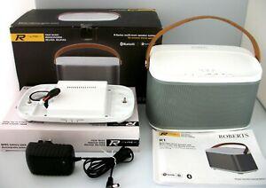 ROBERTS R1 INTERNET RADIO & BLUETOOTH SPEAKER MAINS & BATTERY WITH MULTI-ROOM