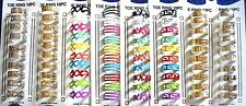 NEW WHOLESALE LOT OF 80 PC TOE RINGS FASHION JEWELRY