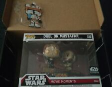 Funko POP! STAR WARS: ROTS Smuggler's Bounty Exclusive Duel On Mustafar + cody