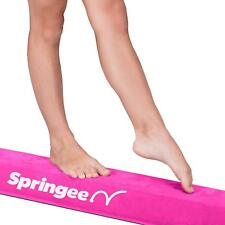 Springee 9.5 ft Balance Beam - Folding Gymnastic Beam Pink Fast Shipping