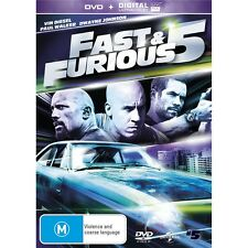 FAST AND FURIOUS 5-Vin Diesel, Paul Walker-Region 4-New AND Sealed