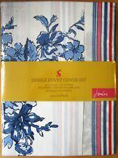 JOULES SINGLE Duvet Cover Set HOTCH POTCH FLORAL BLUE New 100% Cotton