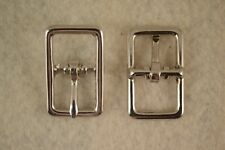 "Buckle, Bar - 1/2"" Nickel Plated - Set of 100 (F326)"