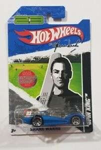 HOT WHEELS SHANE WARNE  #23 SPIN KING LIMITED EDITION 2012