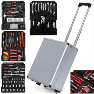 799 PCS Tool Set Mechanics Tool Kit Wrenches Socket w/Trolley Case Box Organize