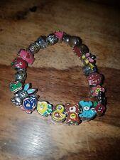 Girls heavy charms bracelet