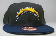 New Era San Diego Chargers 9Fifty 2 Tone Charcoal On Field  Snapback Hat Cap