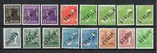 Briefmarken Berlin 1948 aus Mi. Nr. 1 - 16 / Dubletten